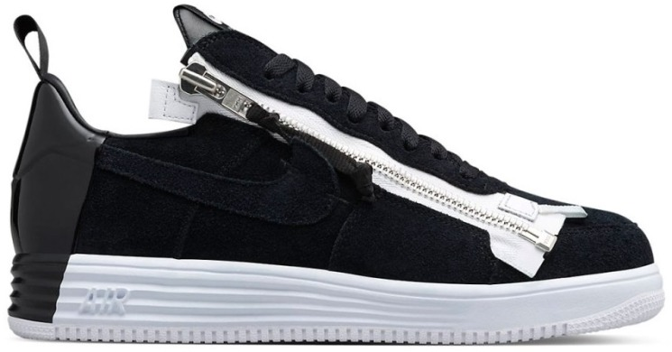 "Кросівки Acronym x NikeLab Lunar Force 1 ""Black/White"", EUR 40"