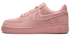 "Женские кроссовки Nike Air Force 1 Low Suede Pack ""Pink"""