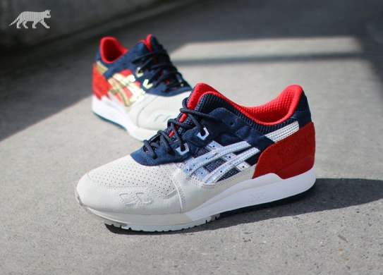"Кроссовки ASICS Gel Lyte III x Concepts ""Boston Tea Party"", EUR 40"
