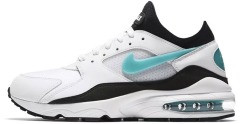 "Кросiвки Nike Air Max 93 ""White Sport Turq Black"""
