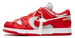 "Кроссовки Nike Dunk Low x Off-White ""University Red"""