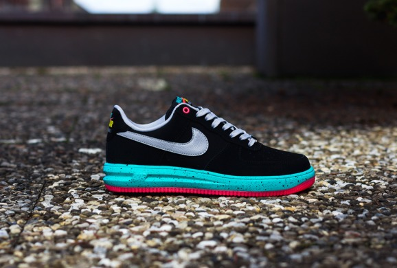 Кросівки Nike Lunar Force 1 Low Black / Pink, EUR 42