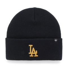 "Шапка Оригинал 47 Brand Los Angeles Dodgers Haymaker Cuff Knit ""Navy"" (B-HYMKR12ACE-NY)"