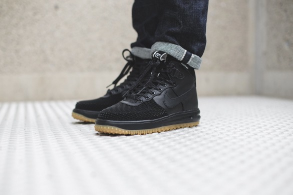 "Кроссовки Nike Lunar Force 1 Duckboot ""Black/Gum"", EUR 41"