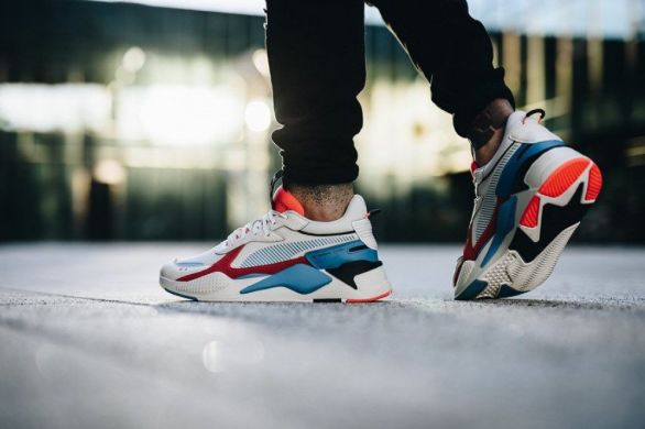 "Мужские кроссовки Puma RS-X Reinvention ""Whisper/White/Red"", EUR 42,5"