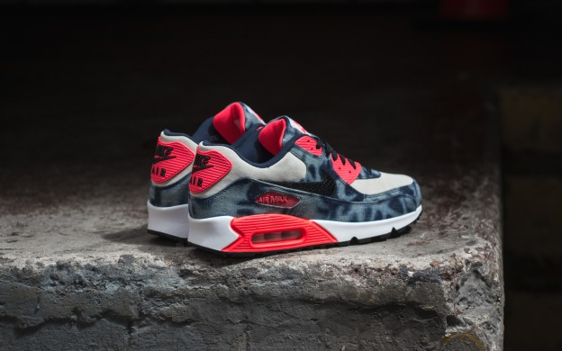 "Кроссовки Nike Air Max 90 ""Infrared Washed Denim"", EUR 41"