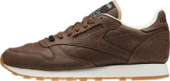 "Кроссовки Оригинал Reebok Classic Leather Boxing ""Dark Brown"" (BD4892)"
