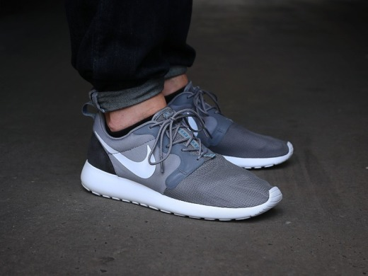 "Кросівки Nike Roshe Run HYP QS 3M ""Light Cool Grey/Black"", EUR 40"