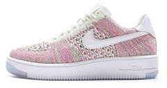 "Кроссовки Nike Wmns Air Force 1 Flyknit Low ""Weiss/Multi"""
