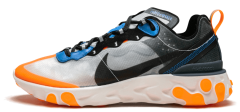 "Чоловічі кросівки Nike React Element 87 Thunder ""Blue/Total/Orange"""