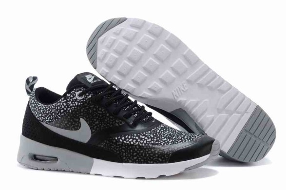 "Кросівки Nike Air Max Thea Print ""Black/Grey"", EUR 38"