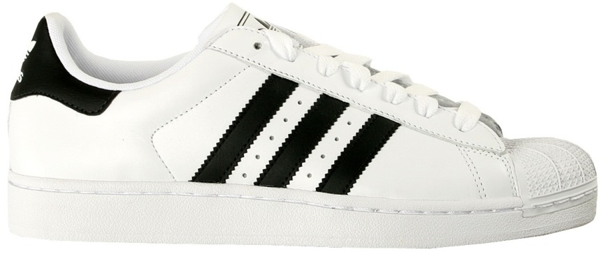 "Кроссовки Adidas Superstar II ""White/Black"", EUR 41"