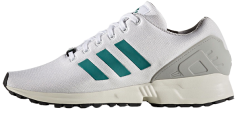 "Кросiвки Оригiнал Adidas ZX Flux EQT ""White/Green"" (S76675)"