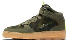 "Мужские кроссовки Nike Air Force 1 ""Jewel Mid Olive Gum"""