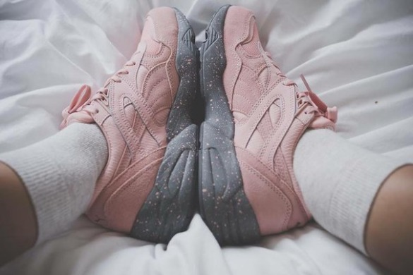 "Кроссовки Puma Winterized R698 ""Coral Cloud Pink"", EUR 37"
